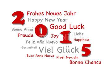 Post image for Prosit Neujahr 2015/ Happy New Year